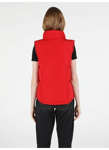 Colin's Regular Fit Kadın Kırmızı Yelek Kırmızı